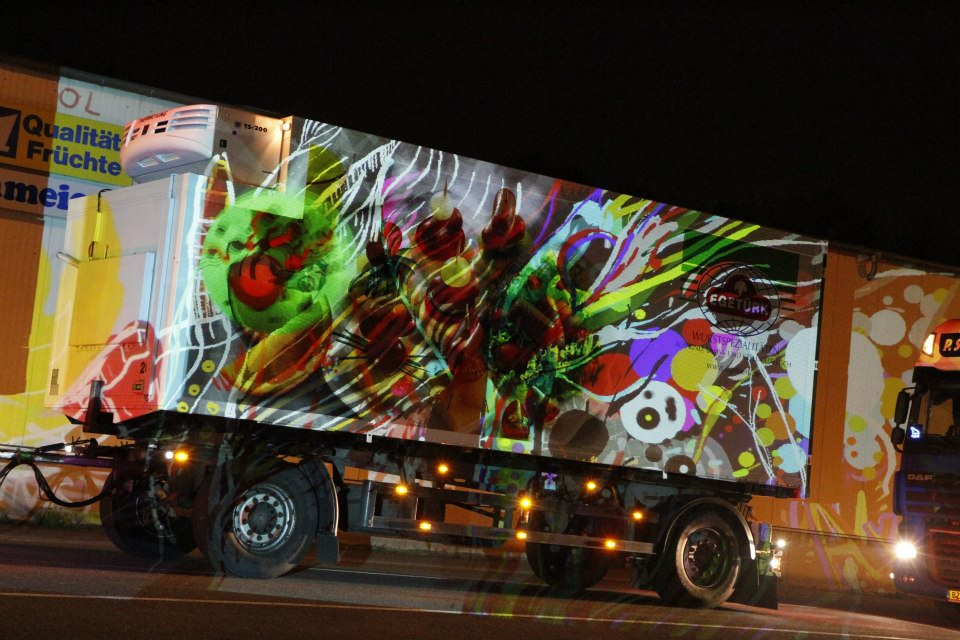 Dortmund Street Outdoor Painting – Art!g