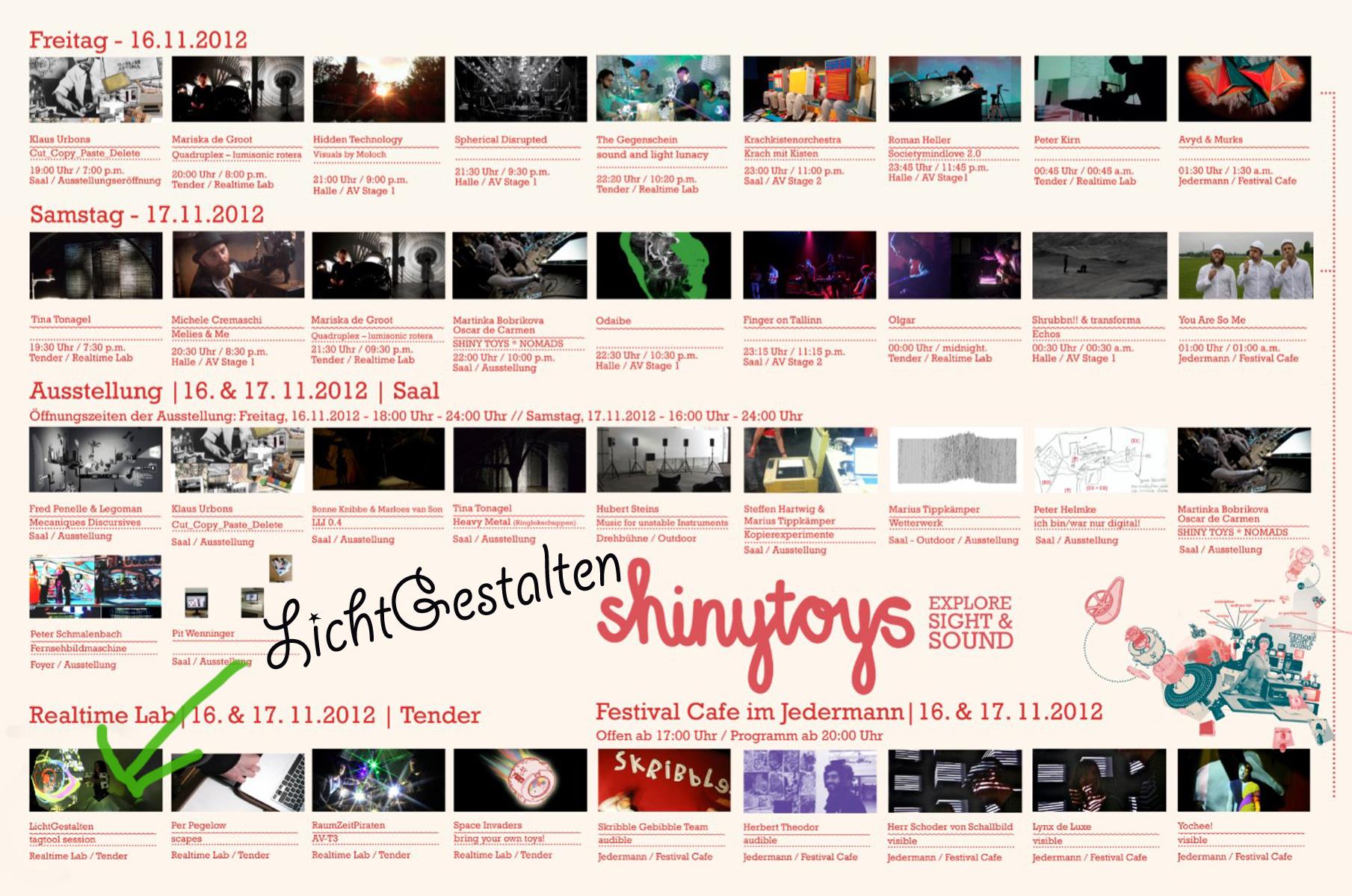 Shinytoys Festival 2012