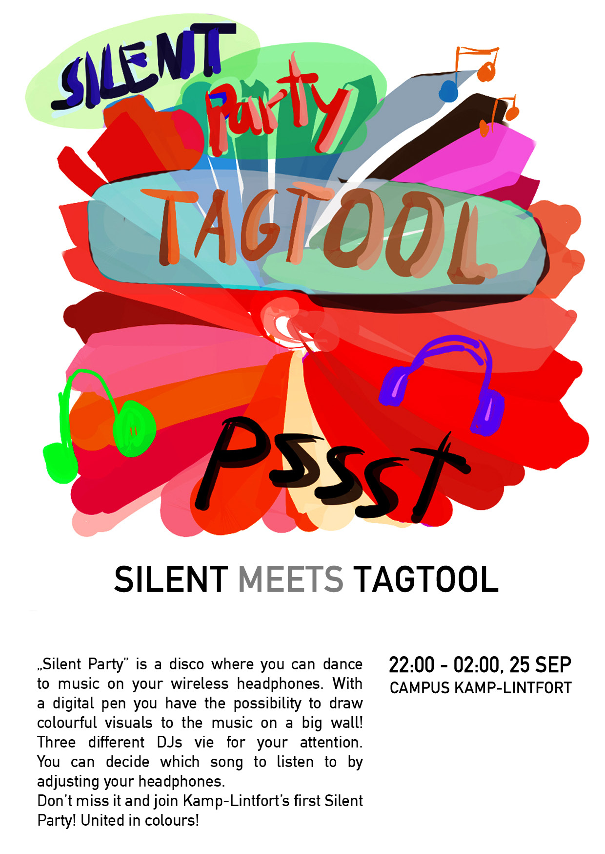 Silent Party Campus Kamp-Lintfort