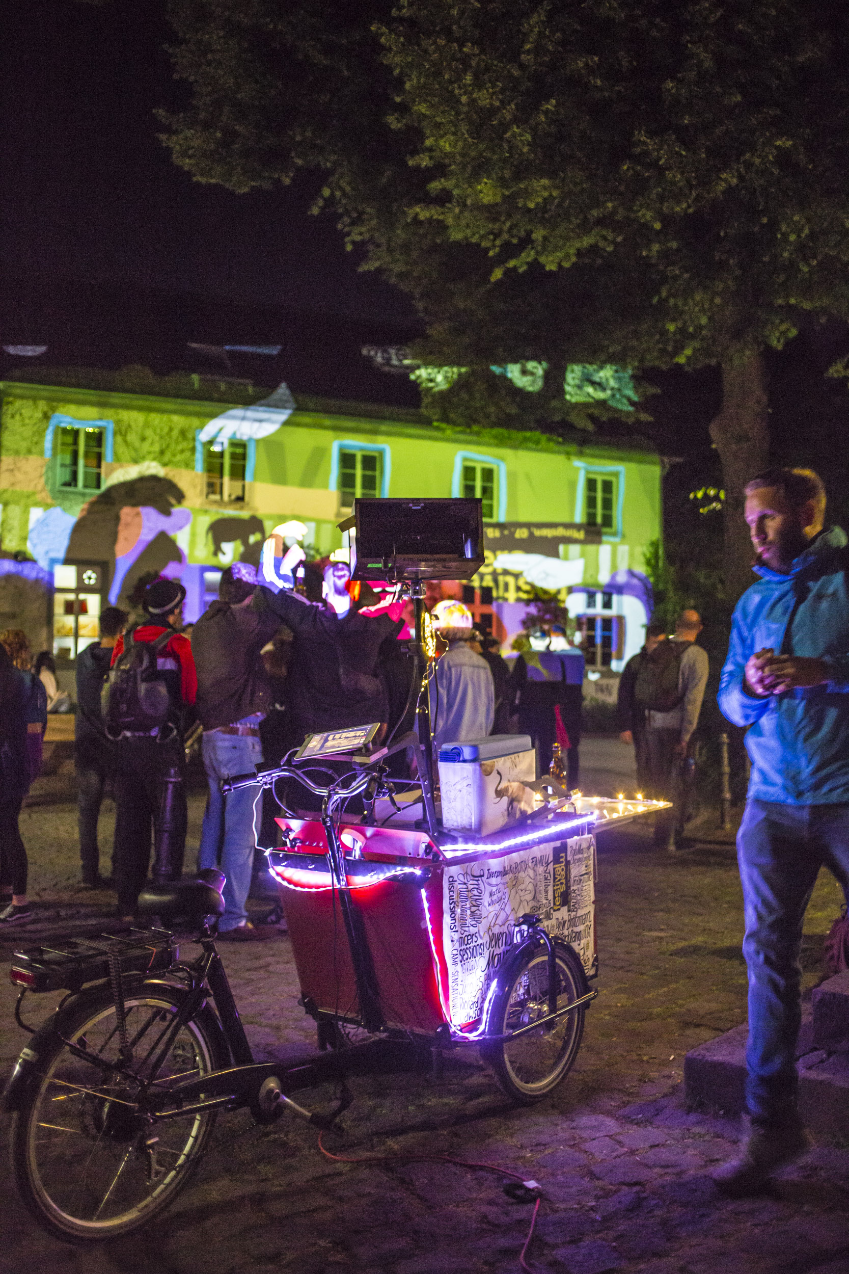 Moersfestival – Multimedia Bike